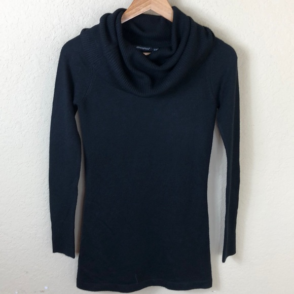 Atmosphere Sweaters - Euc Atmosphere cowlneck black fitted sweater